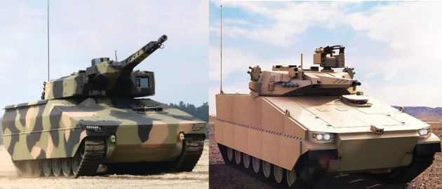 The Commonwealth has shortlisted Rheinmetall's Lynx Infantry Fighting Vehicle (IFV) and Hanwha's Redback IFV for Land 400 Phase 3.