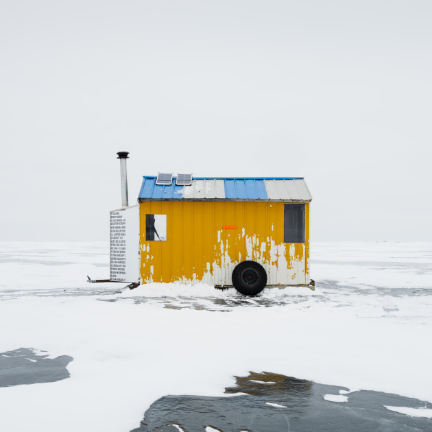 © Sandra Herber, Canada, Category Winner, Professional, Architecture, 2020 Sony World Photography Awards. Ice Fishing Hut XV.