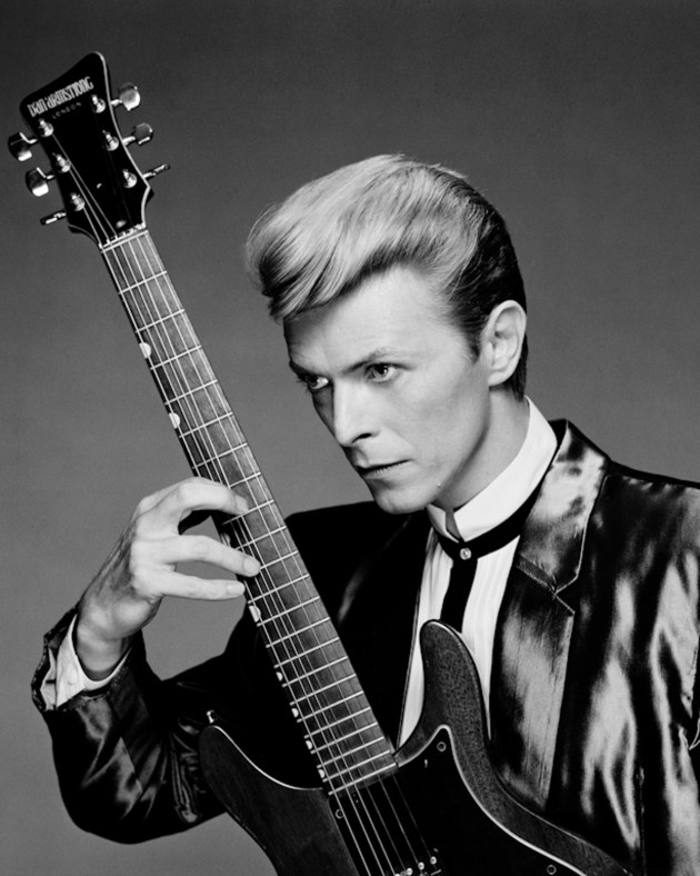 © Greg Gorman. David Bowie.