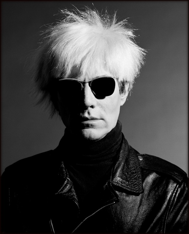 © Greg Gorman. Andy Warhol.