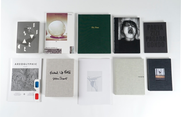 The ten finalists of the 2017 Australian Photobook of the Year.
