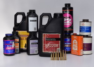ADI AR 2208 is front and centre amongst Marcus' reloading powders
