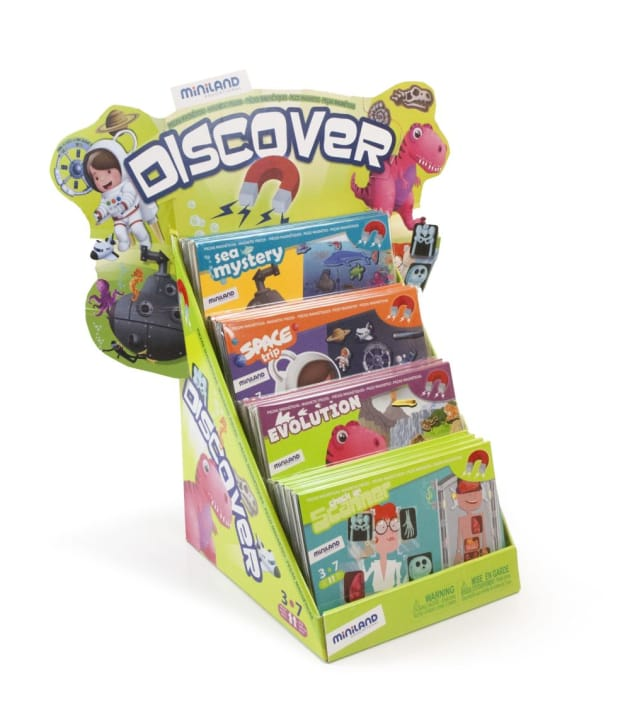 Miniland On The Go Discovery Games from Axis Toys - Toy ...