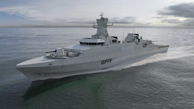 The BAE Systems/Cammell Laird design for the Royal Navy's Type 31: the UK Government has set a price cap of £250m per ship for the general purpose frigates. Credit: BAE Systems