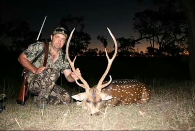 Clint Hardes - nice chital stag