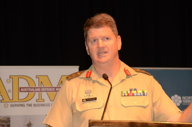 MAJGEN Gus McLachlan, Commander Forces Command. Credit: ADM David Jones