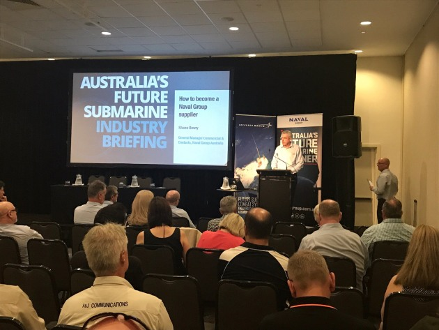 Naval Group's General Manager of Commercial and Contracts Shane Berry goes through the opportunities for Australian industry on the Future Submarine program.
