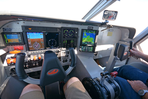 Airvan 10 instrument panel. (Steve Hitchen)