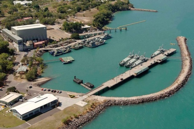 HMAS Coonawarra naval base in Darwin. Credit: Defence