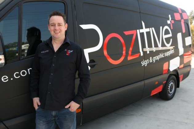 'It's a good opportunity to see what Pozitive does': Phil Trumble, managing director of Pozitive.