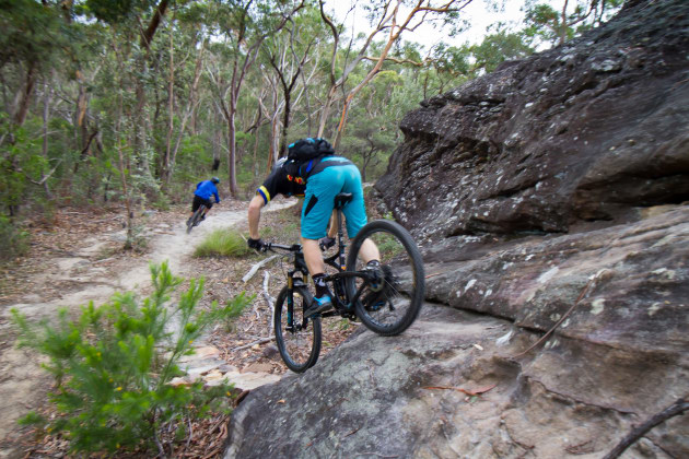 07cfaa0a275 Mountain bikers have remained true to the environmental brief they were  given. The new trails are being built properly, with rock armouring where  it's ...