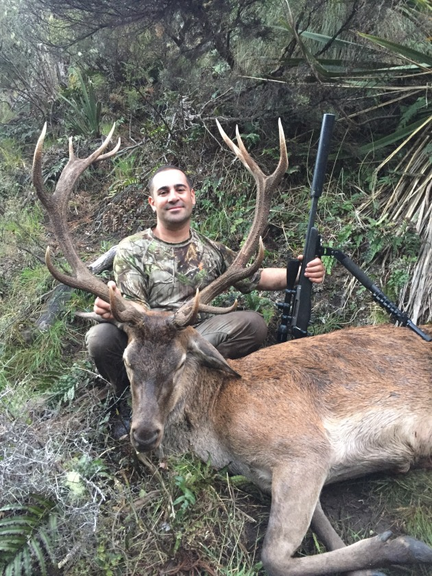 Michael Abdennour 12-point red stag