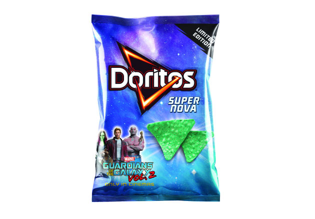 Doritos' limited-edition Super Nova corn chips.