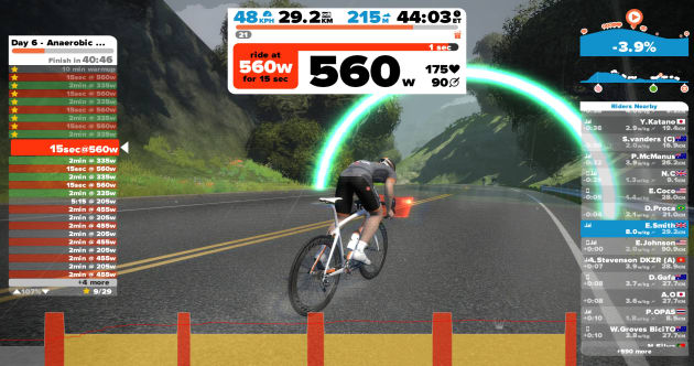 Faster In Four Weeks Using The Home Trainer & Zwift - Bicycling