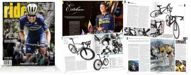 Ride Cycling Review's October edition will be the last regular quarterly print edition, to be replaced by an as yet unspecified electronic based format.