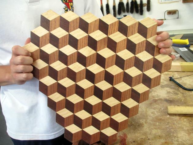 Mosaic Cutting Board Australian Wood Review