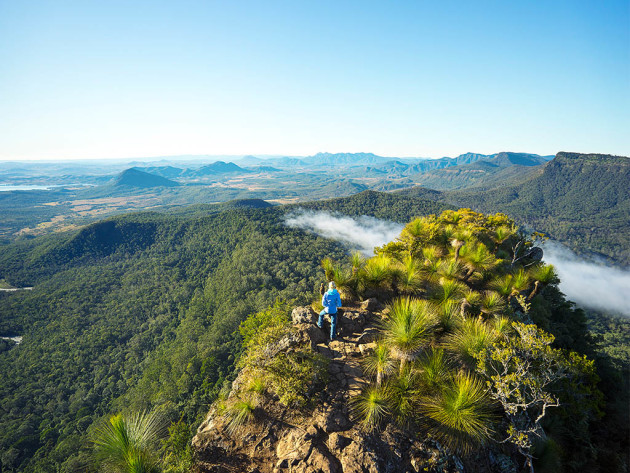 Exploring the glorious Scenic Rim Trail.