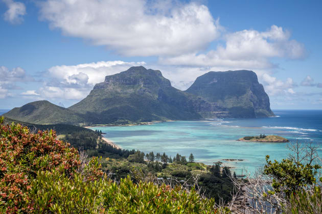 Seven Peaks- Walk, Lord Howe. Photo: Luke Hanson.