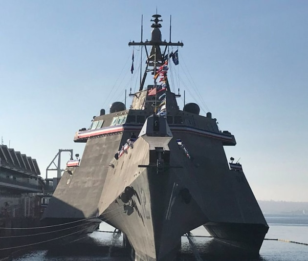 Latest Austal LCS commissioned by US Navy - Australian Defence Magazine