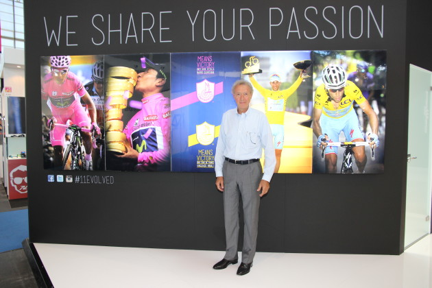 2014 was a banner racing season for Campagnolo, winning both the yellow jersey in the Tour de France and the pink jersey in the Giro d'Italia.