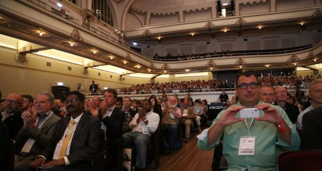 Many of the conference sessions were held in this grand century old hall, along with smaller break out groups in various adjacent meeting rooms and another theatre nearby.