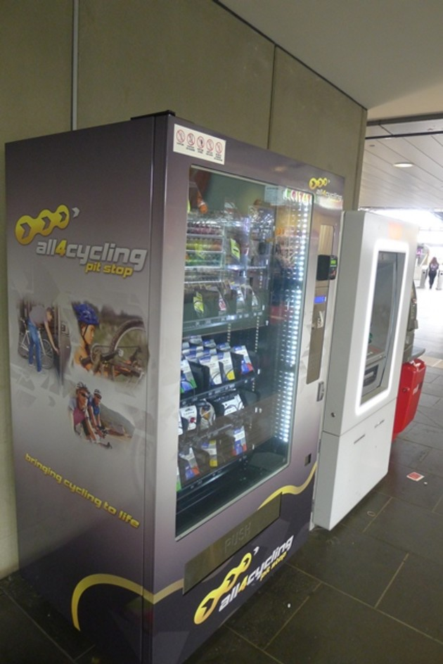 Cycling Component Vending Machines Are Here Now! - Bicycling Trade