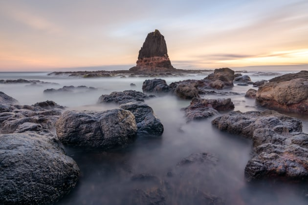 Location: Cape Schanck. 121s @ f11, ISO 100. Products used: M10 Filter Holder and M10 Drop-In 10-Stop ND Filter.