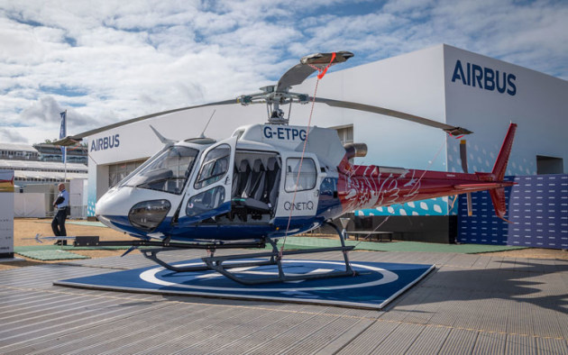Airbus Helicopters best-selling H125 is a development of the venerable A350 Squirrel. (Airbus Helicopters)