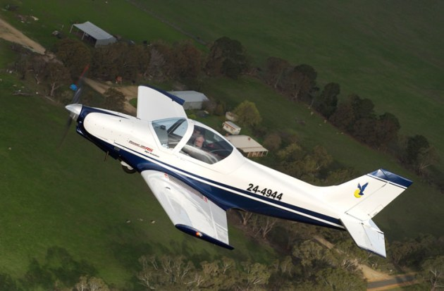 Alpi Aviation 300 recreational aircraft. (John Absolon)