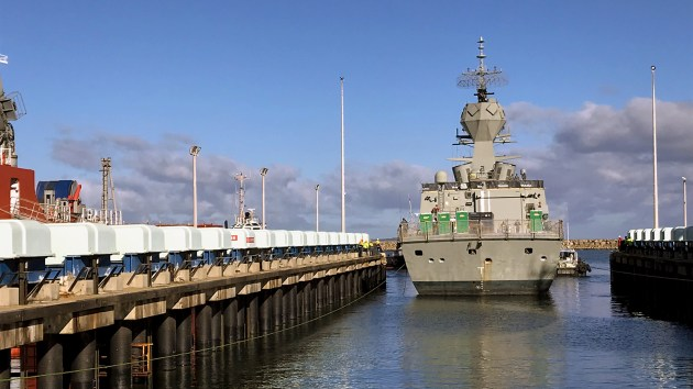 HMAS Anzac will be the second ship to receive the AMCAP upgrade. Credit: BAE