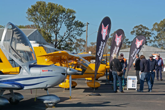 Ausfly 2018 is hoping to rekindle the community spirit of the original event held at Narromine. (Steve Hitchen)