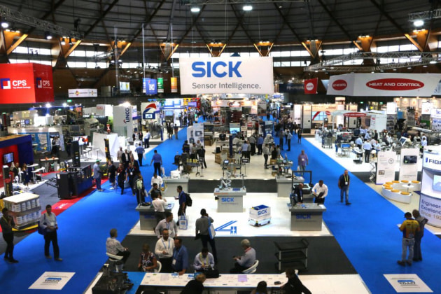 The show floor at AUSPACK 2017, which was held in Sydney.