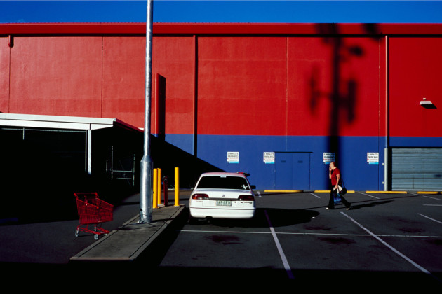 Parked trolley. 75cm x 50cm. Digital print on 310gsm Cotton Rag. © Trent Mitchell.