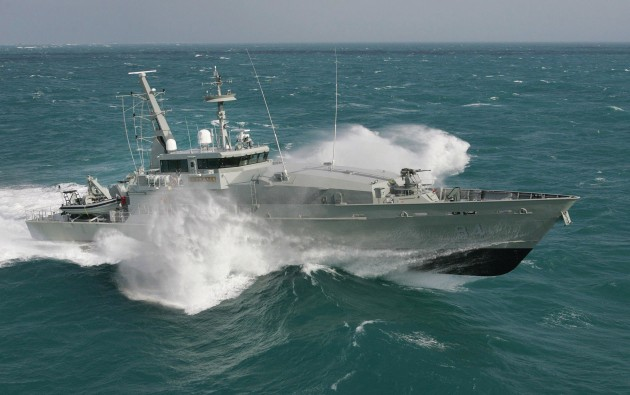 The report argues that there'll be continued regional demand for vessels ranging from small riverine craft to fast patrol boats and offshore patrol vessels. 