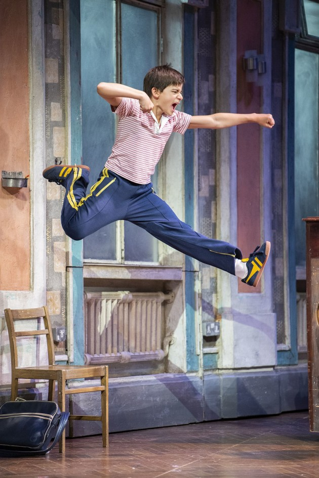 Wade Neilsen performing as Billy Elliot on opening night in Adelaide.