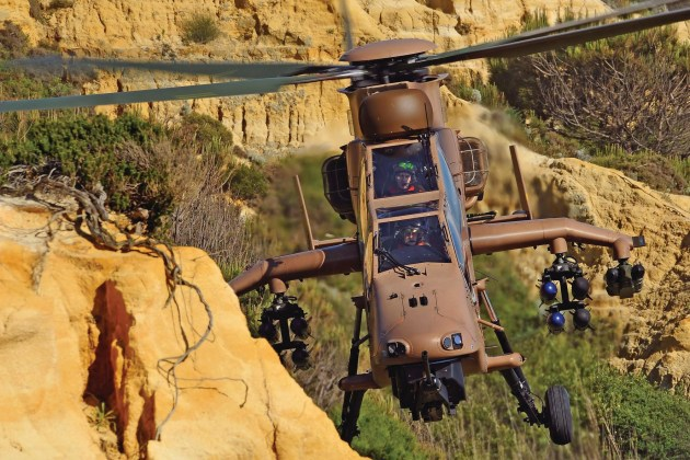 The French Army's Tigres have extensive operational history in North Africa. (Airbus)