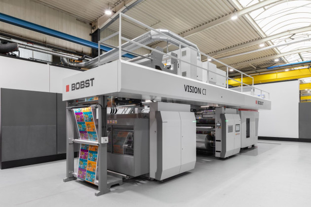 Vision: New CI press from Bobst