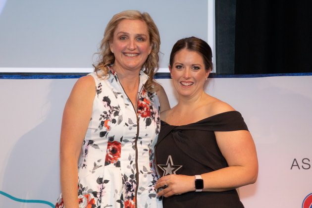 Rising Star Award won by Kate Presnell, sponsored by ACM Parts