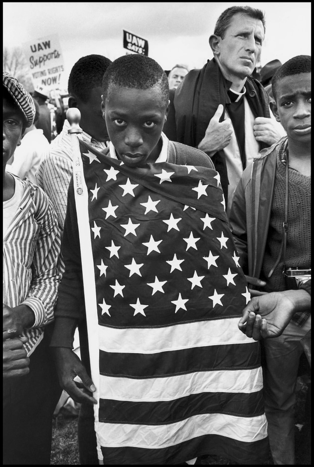 The Selma March. Alabama, USA. 1965. Bruce Davidson/Magnum Photos.