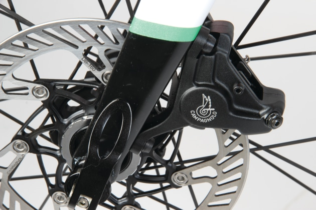 Campagnolo took their time bringing disc brakes to market.