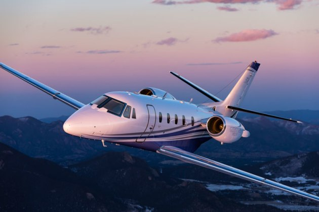Cessna's Citation XLS+, part of the 560XL family. (Textron Aviation)