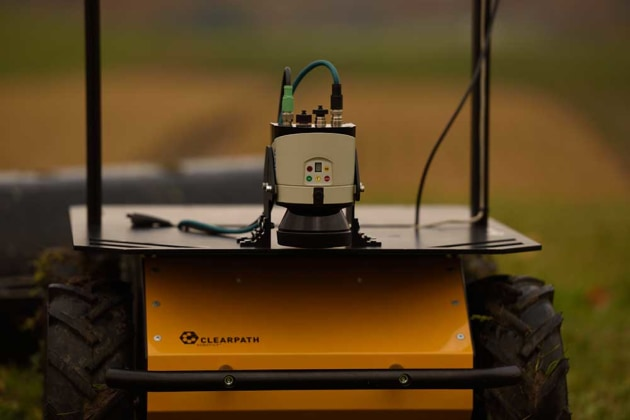 The Husky Explorer Pro is an unmanned ground vehicle (by ClearPath) which will be used for unique medical solution to save lives in the field with Chironix autonomous systems.