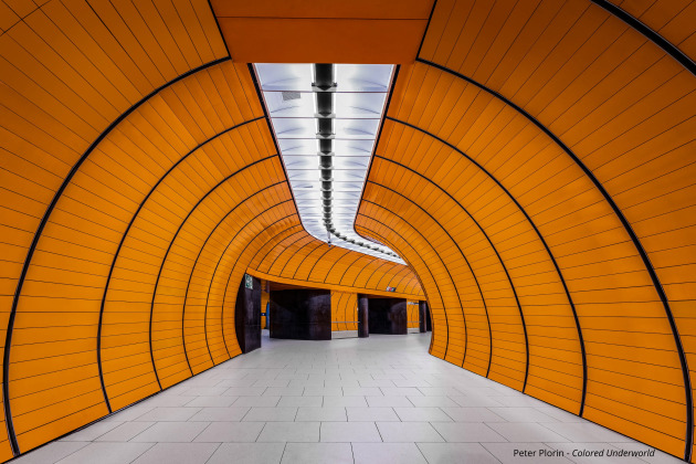 © Peter Plorin. Colored Underworld. Architecture Photographer of the Year. Colored Underworld is about to show the beauty of these underground facilities through the dynamics of the colors, and to decouple them from your builder, operators and users. Grown up in the sixties in a small town in the Lower Rhine Area, he has been influenced by the Lower Rhine landscape and also by industrial heritage and architectural diversity. This affected previously his work as painter. Later on, with the coming of the digital age, he swapped back to photography, which he had performed occasionally before with analogue cameras alongside the painting. His Main topics are expressive and high-quality photographic images out of the subject's architecture, landscape from many different countrys, Sport and People photography.