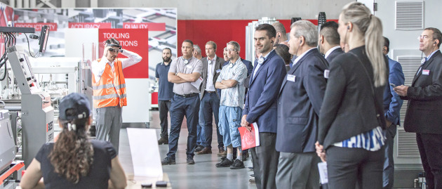 Enhanced customer experience: Bobst Competence Centres