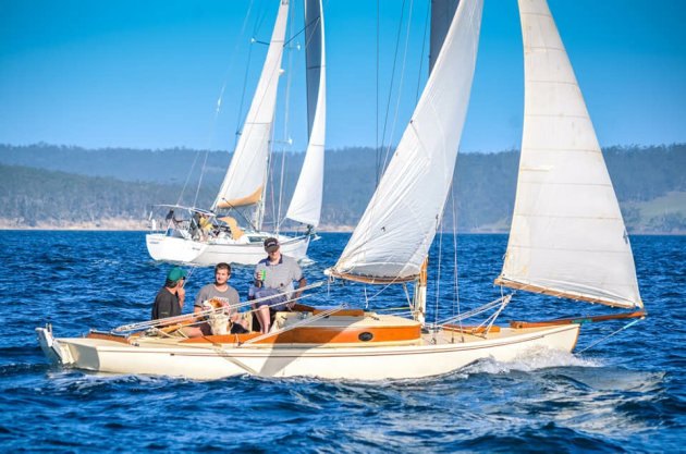 Historical 18 Footers And Derwent Class On Show At Wooden Boat