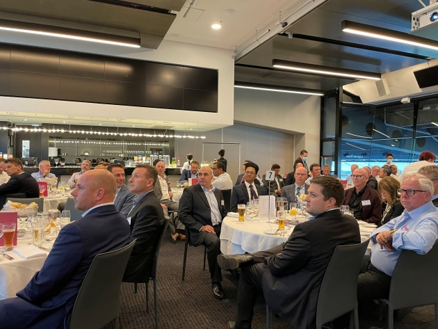 The first APPMA members dinner of the year attracted a large crowd keen to get together in person after the severe Covid-19 restrictions.