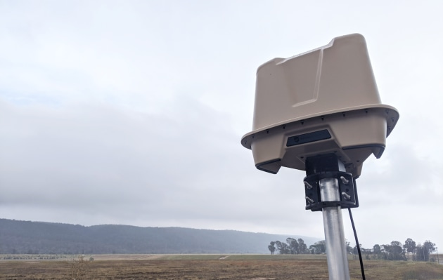 Image: DroneShield's RfZeroTM ground or vehicle-mounted drone detection units. (DroneShield)