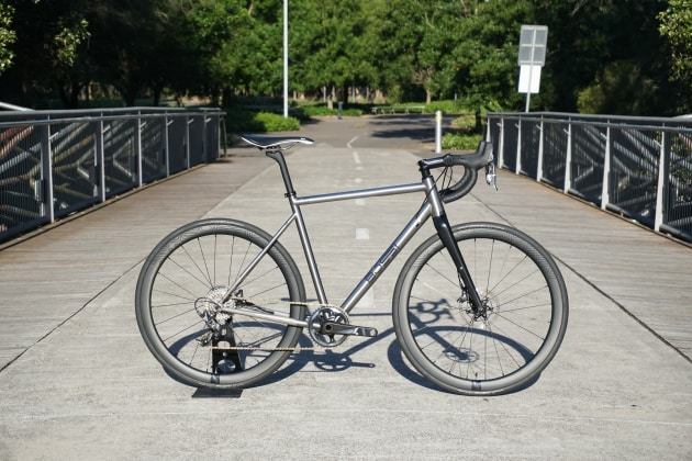 Tested: Bossi Grit Ti Allrounder - Bicycling Australia