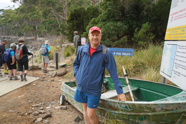 The start of the walk to Cape Hauy from Fortescue Bay.