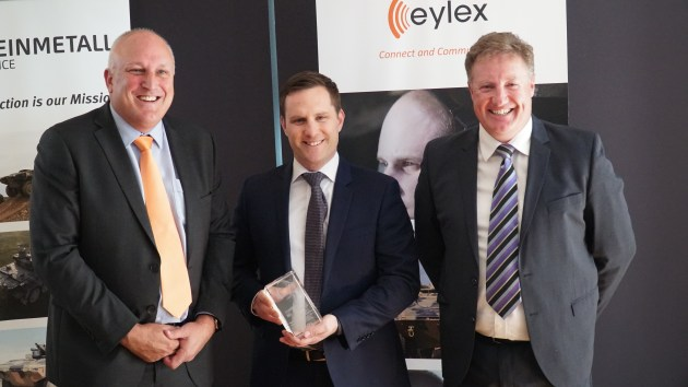 Eylex will provide headsets and leads for the Block One Boxer vehicles. Credit: Eylex